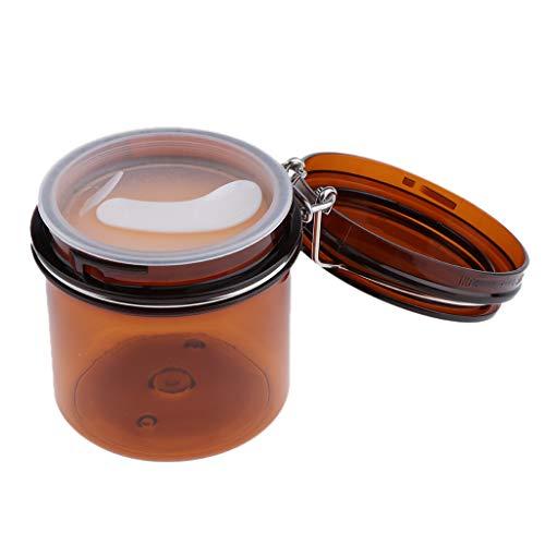 B Blesiya Versiegelte Dosen Topf Kosmetikflasche Behälter Maske Verriegelung Deckel Rund Maske Jar
