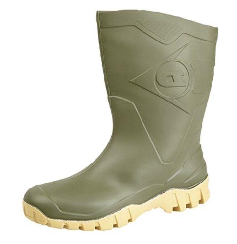 Dunlop , Bottes en caoutchouc homme Vert - vert