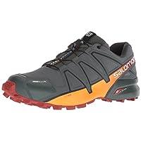 Salomon Men's Speedcross 4 CS Trail Running Shoe, Urban Chic/red Ochre/Tangelo, 10 D US