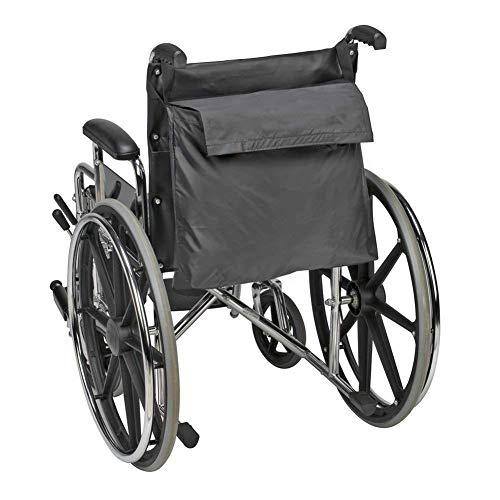 Hanshi HZC139-B Rollstuhl-Aufbewahrungstasche, für Mobilitätshilfe, Rollstuhl-Zubehör, für ältere Menschen, Senioren, behinderte Menschen