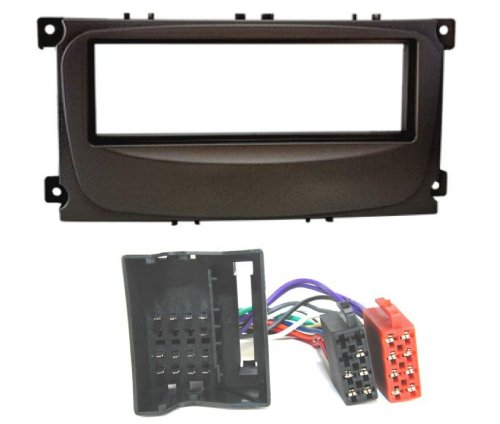 Baseline connect kit d'installation (cache frontal de radio adaptateur d'autoradio pour fORD mondeo, focus, c-max, s-max et galaxy, kuga#6191 1044W/#