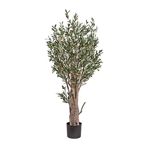Olivenbaum, ca 150cm, grün 170 Früchte, im Topf 17,5cm D=19cm, Kunstbaum (994929091548)