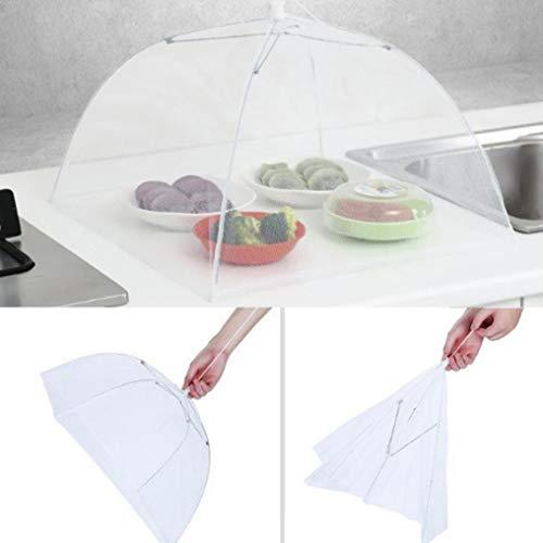 Mamum Essensschutzzelt, 1 großer Pop-Up-Mesh-Schutz für Lebensmittel, Kuppelnetz, Regenschirm, Picknick -