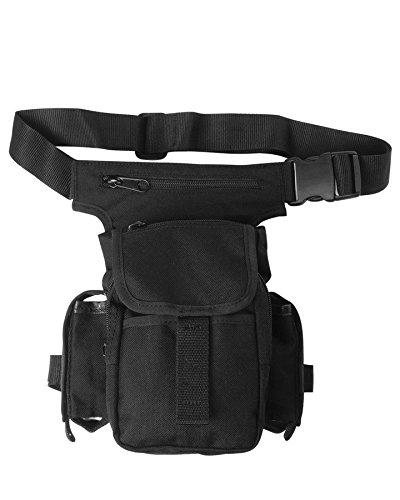 Mil-Tec Herren Multi Pack Hüfttasche, Schwarz, Einheitsgröße