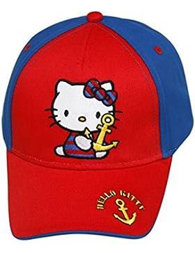 Hello Kitty Cap, Mütze blau/rot