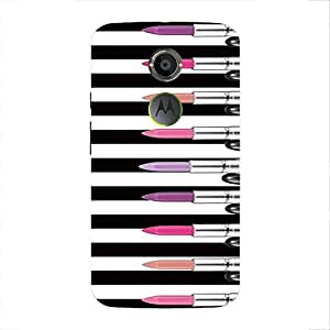 Back cover for Moto X (2nd Gen) Lipstick