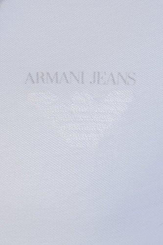 Armani Jeans Herren Poloshirt weiß weiß Weiß