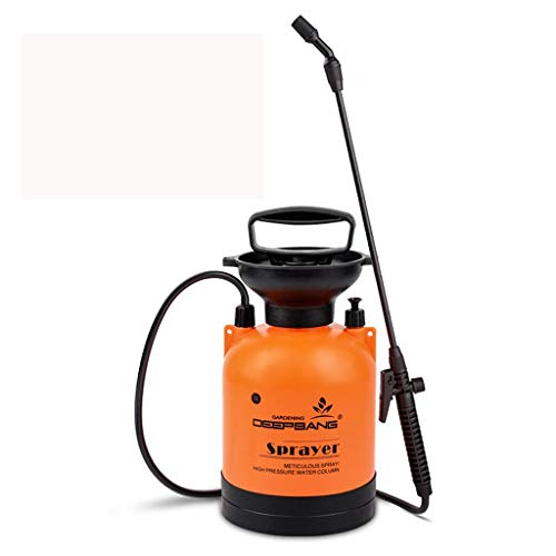 Schulter-Mehrzwecksprüher Autowäsche Bewässerung Blumensprühflasche 3L, 5L Edelstahl, Fiberglas Boom Orange Farbe (Size : 3L18cm*30cm) (Fiberglas Dusche Basis)