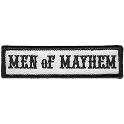 Men Of Mayhem - Motorcycle Club Outlaw Anarchy Biker Jacket Vest Patch Parche Motero Bordado Termo-adhesivo Por Titan One Europe