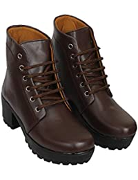52ddce021c5 Brown Women's Boots: Buy Brown Women's Boots online at best prices ...