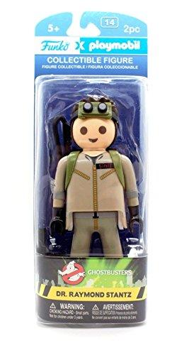 Funko - Figurine Ghostbusters Playmobil - Raymond Stantz 15cm -...