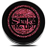 Paint Glow Shake Me UP! Glitter Shaker Red with Fix Gel