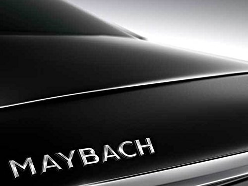 mercedes-maybach-boot-trunk-lid-emblem-badge-chrome-oem-original