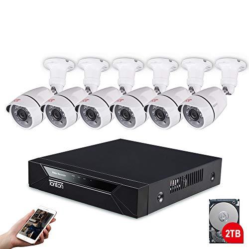 Tonton Ãœberwachungskamera Set 8CH Full HD  im Test