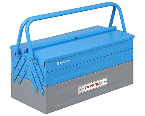 Toolscentre Multi Color 5 Compartment Tool Organizer for Home and Professional Usage Size 18