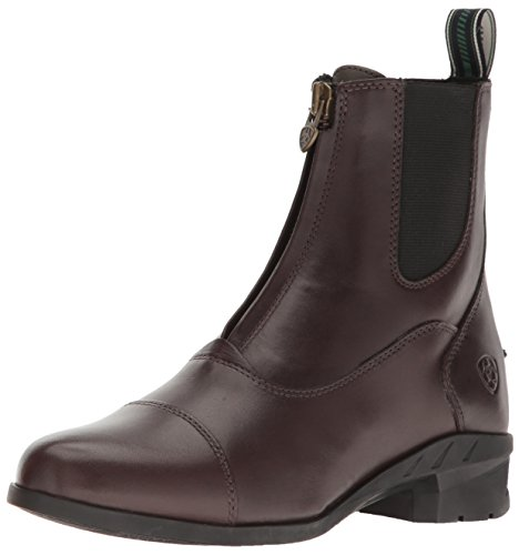 ARIAT Damen Stiefelette HERITAGE IV ZIP Paddock (mit Reißverschluss vorne), Light Brown, Adults 8