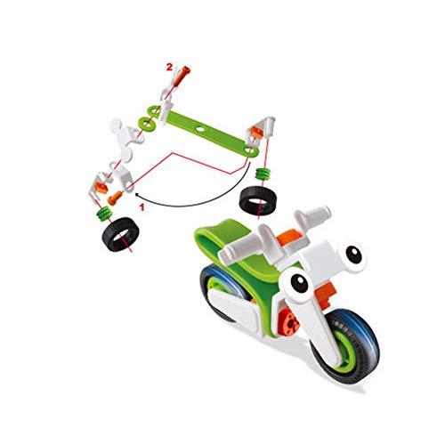 Wudi Klein Engineering Construction Bausteine ??Lernspielzeug DIY Kids Babyspielzeug Lernen und Unterhaltung (6816)