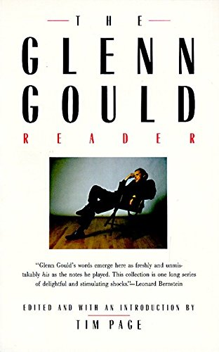 The Glenn Gould Reader