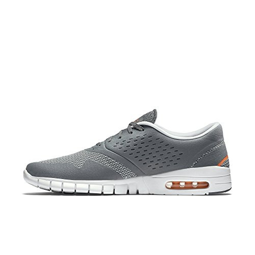 Nike Eric Koston 2 Max, Chaussures de Skate Homme, Rouge, Taille COOL GREY/TOTAL ORANGE/WHITE
