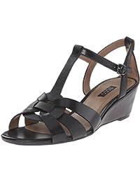 ECCO Women's Footwear Rivas 45 Wedge Dress Sandal