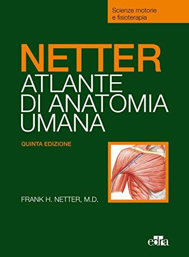 Netter. Atlante anatomia umana. Selezione tavole per Scienze motorie e fisioterapia