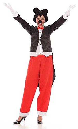 Widmann 05893-Maus Kostüm, in Größe L