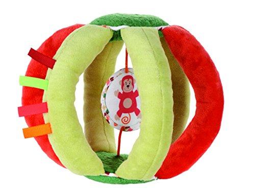 Latitude 333854 - Softball mit Spielfunktion Zumba Affe, rot/grün
