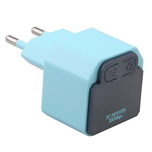Homelectric Inc 300 m Wireless WiFi Repeater 802.11N Signalverstärker Reichweite Extender Booster (Long Range Antenne Handy)