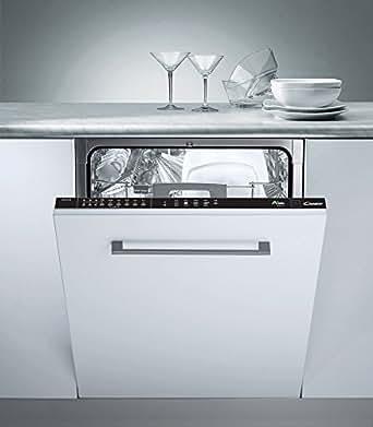 Candy CDI 2112-02 Entièrement intégré 12places A+ lave-vaisselle - Lave-vaisselles (Entièrement intégré, Noir, Condensation, 12 places, 47 dB, A)