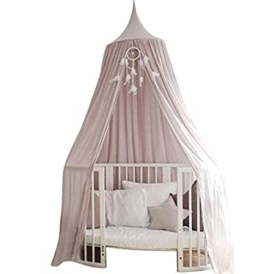 Favoridol Baby Dome Bed Canopy Cotton Mosquito Netting Children Kids Princess Play Tents