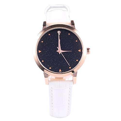 Liandd Luxusmarke Frauen Uhren Mode Armbanduhr Damen Handgelenk Quarz Kleid Uhr Rose Gold Clock,White