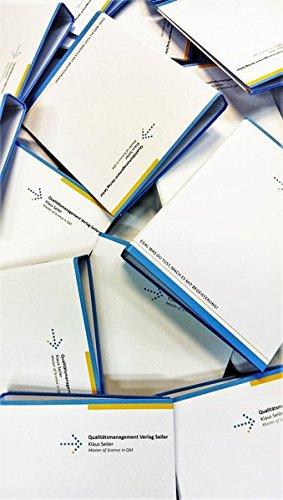 DIN EN ISO 9001:2008 Musterhandbuch Standard für Industrie und Dienstleistung: Mustervorlagen zur Erstellung einer QM-Dokumentation nach DIN EN ISO in MS-Word, Excel und PowerPoint.