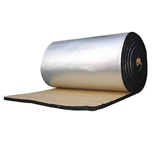Tianxiu Auto-Wärmeisolierungs-Auflage Auto-feuerfeste Auflage 10MM Aluminiumfolie-Baumwollschalldämpfer-Matte Hitzeschild-Isolierungs-Auflage für Tür-Dächer-Boden-Stämme