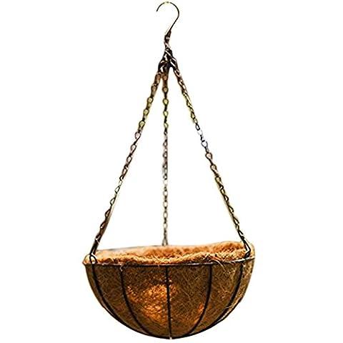 Outflower 25,4cm Style rural Panier fer à suspendre Pots à suspendre