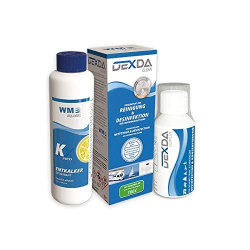 Preisvergleich Produktbild Wasserhygiene-Trio Frischwassertank (bis 160 Liter) inkl. DEXDA Complete