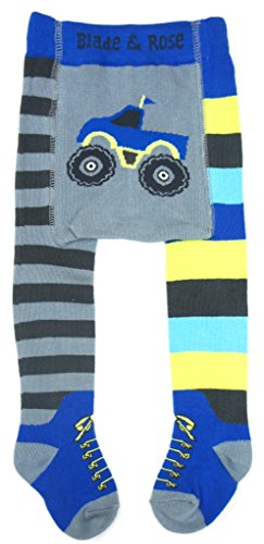 Blade & Rose Monster Truck Tights Leggings (6-12 Months)