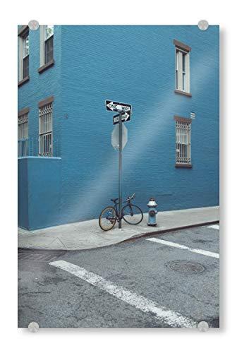 artboxONE Acrylglasbild 18x13 cm Architektur NYC Soho Bild hinter Acrylglas - Bild New York NYC NY