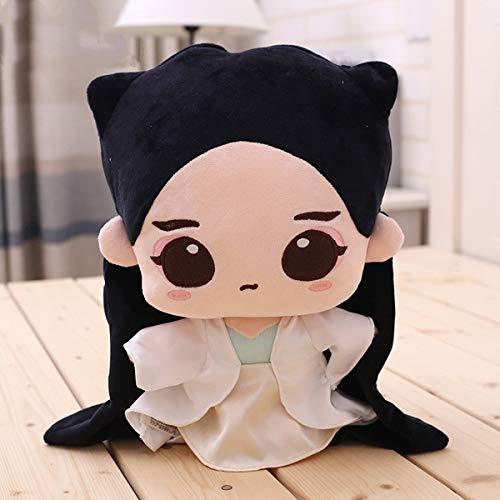 Weibliche Kostüm Panda - haojiagongsi Fox Kostüm Puppen Puppen Puppen Puppen Puppen Plüschtiere Weibliches Kostüm 30 cm Weibliches Kostüm 30 cm