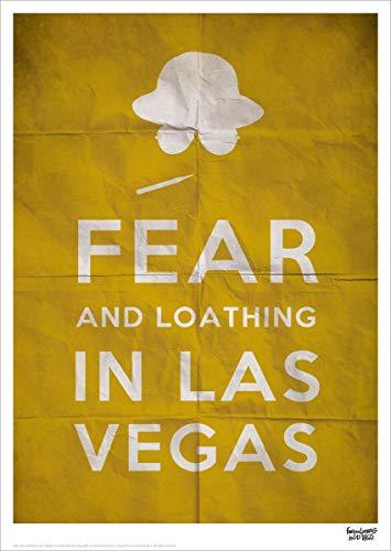 Fear And Loathing In Las Vegas Text Limitierter nummerierter Kunstdruck 30x42cm
