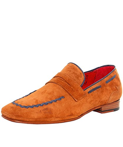 Martini ocidentais Loafer Croste Jeffery Camurça Tan Homens wXv68qxZ