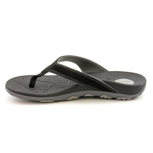 Orthaheel Bryce String pour homme Sandale Multicolore - Noir/gris