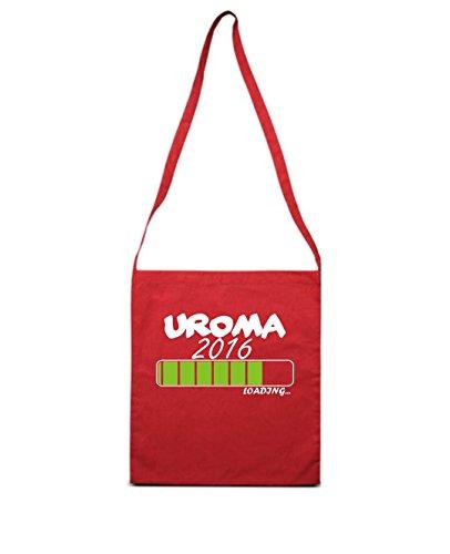 UROMA 2016 loading... leur naissance, baptême sac bandoulière plusieurs couleurs Rouge - Rouge