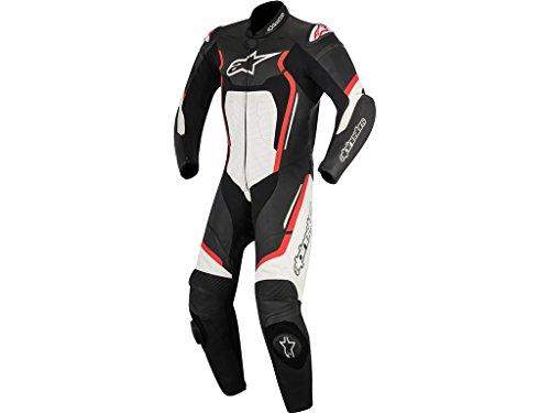 Alpinestars Motegi V2 1Pc Leather Suit Nero Rosso Bianco 50