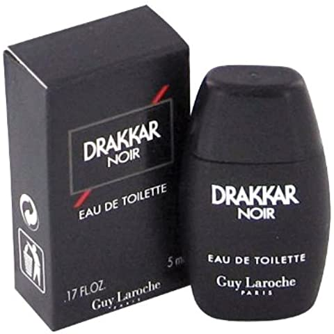 DRAKKAR NOIR by Guy Laroche Mini EDT .17 oz for Men by Guy Laroche