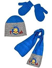 Winnie l ourson Echarpe, bonnet et moufles bébé enfant garçon 3 coloris de 28acfa92f0e