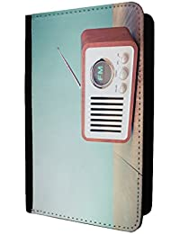 Retro Radio Passport Holder Case Cover - S463