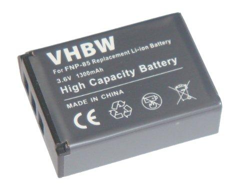 vhbw Li-Ion Akku 1300mAh (3.6V) für Kamera, Camcorder, Video Fujifilm Finepix F305, SL240, SL260, SL280, SL300, SL305, SL1000 wie NP-85. Finepix Camcorder