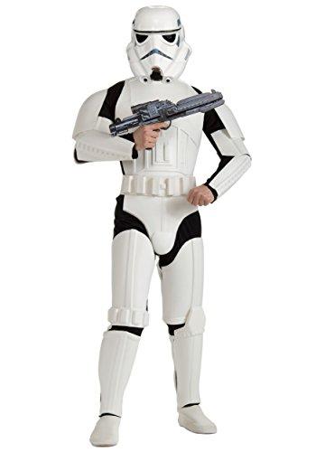 (Realistic Stormtrooper Fancy dress costume Small)