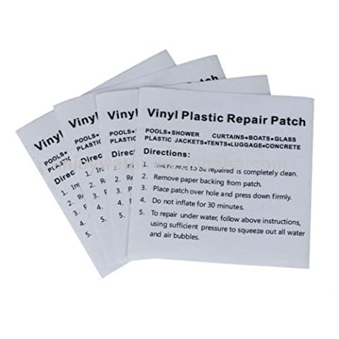 SUDS-ONLINE 5 X Inflatable Repair Kit Pool Patch Garden Adhesive Clear Heavy Duty