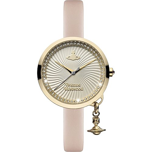 Vivienne Westwood Orologio Analogico Donna con Cinturino in Pelle VV139WHPK